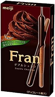 Meiji Fran Chocolate Stick Double Chocolate Dagashi snack Japan