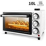 Mini forno FREIHAFEN 10L con funzione vapore e pratico vassoio raccogli briciole, Forno pe...