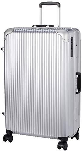 [ヒロディービーシー] フレームエッジ、スーツケース フレームエッジ 保証付 90L 5.7kg シルバー