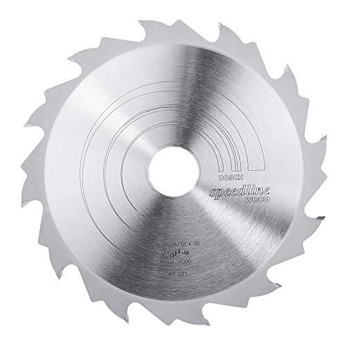 Bosch Zubehör 2608640800 Kreissägeblatt Speedline Wood 190 x 30 x 2,6 mm, 12