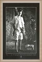 ポスター ステューシー ステューシー20th Anniversary プリント05 額装品 ウッドベーシックフレーム(オフホワイト)