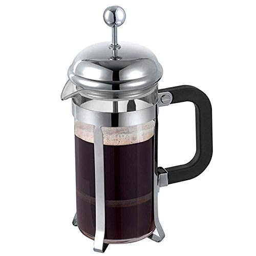 Best Buy! Nuokix Coffeepots, Coffee Press Household French Press Pot Stainless Steel Coffee Tea Make...