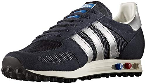 adidas Originals LA Trainer OG Uomos (UK 4.5 US 5 EU 37 1/3, Legink/msilver/Navy BB1208)
