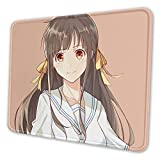 Fruits Baske Tohru Honda Laptop Mouse Pad, Non Slip Mouse Pad with Stitched Edges 7 x 8.6 in