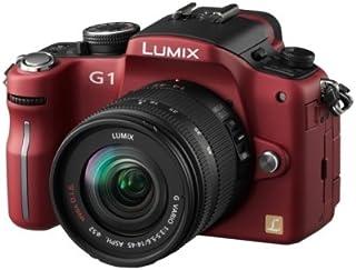Panasonic Lumix DMC G1K SLR Digitalkamera (12 Megapixel, LiveView) rot inkl. Vario 14 45 mm F3,5 5,6