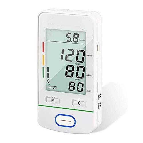 HKJZ SFLRW Monitor de presión Arterial Brazo Superior, precisa automática Digital para Uso en el hogar y medidor de monitoreo de tasa de Pulso