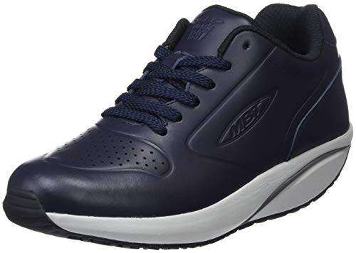 MBT MBT-1997 Leather Winter W, Zapatillas para Mujer, Azul (Navy 12n), 37 EU