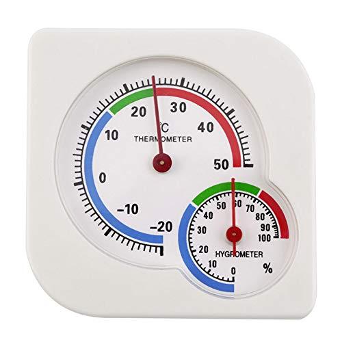 Basage Paquete de 2 TermóMetros para Interiores, HigróMetro, Medidor de Temperatura y Humedad para el Hogar, la HabitacióN, la Cocina, el Patio y...