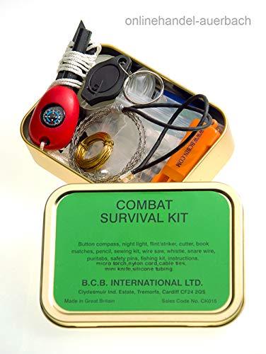 Outdoor-Survival Kit/Überlebensset Combat