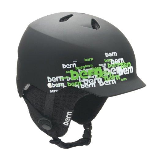 Bern Watts EPS Black Knit BW10-M5EK...