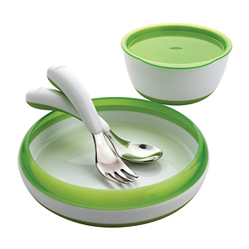 Oxo Tot 4 Piece Feeding Set-Green