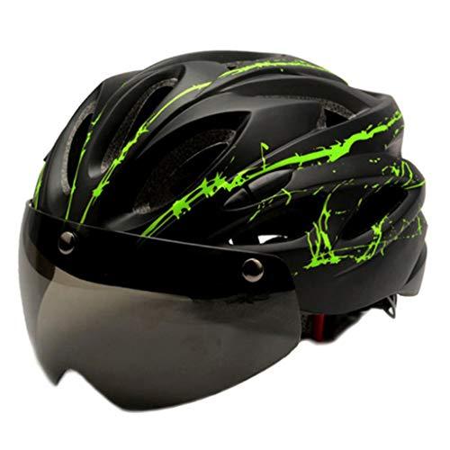 harayaa Casco de Adulto Ajustable para Bicicleta de montaña de Carretera Protector...