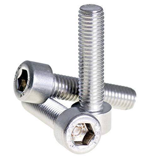 StLlion M5 A2 304 Boulons à tête hexagonale filetés en acier inoxydable – DIN 912