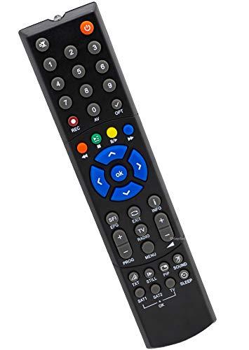 Ersatz Fernbedienung für Technisat PVR235 Receiver Fernseher TV Remote Control