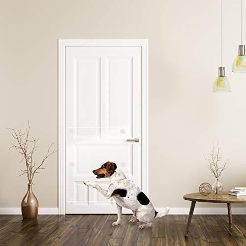 FAMS Anti-Kratz-Pads, Tür-Schutzfolie, Abdeckung über der Tür, Anti-Kratzschutz, für Hunde und Katzen, Krallenschutz, 41 x 120 cm