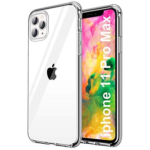 Cover per iPhone 11 Pro Max iPhone 11 Pro Max Custodia trasparente in silicone compatibile con iPhone 11 Pro Max, ultra sottile e morbida