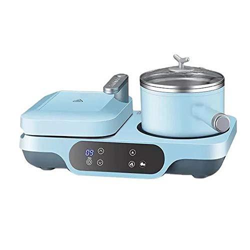 Máquina de Desayuno multifunción Tres en una máquina de asado Frito Aparatos automáticos de Alta Temperatura Resistencia a la corrosión