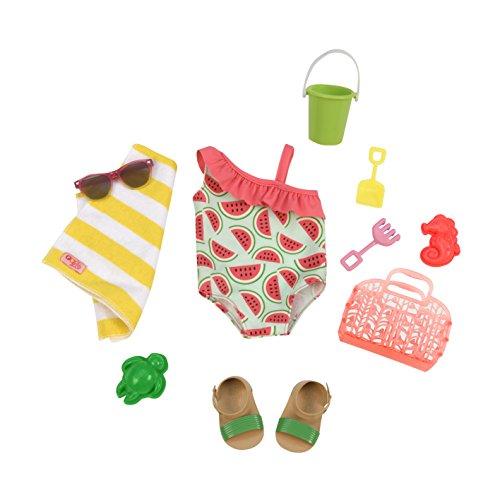 Our Generation Costume e Accessori da Spiaggia, Colore Ensemble Maillot De Bain, BD30241Z