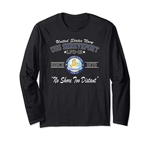 USS Shreveport LPD-12 Long Sleeve T-Shirt