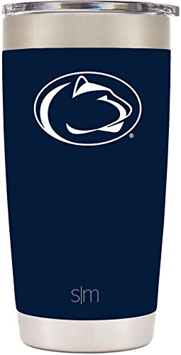 Simple Modern 20oz Cruiser Tumbler - Penn State Nittany Lions Vacuum Insulated 18/8 Stainless Steel Tailgating Cup Travel Mug - Penn State