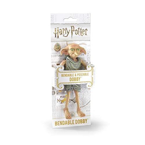 The Noble Collection NN7365, statuetta di Dobby, da collezione, personaggio di Harry Potter, multicolore