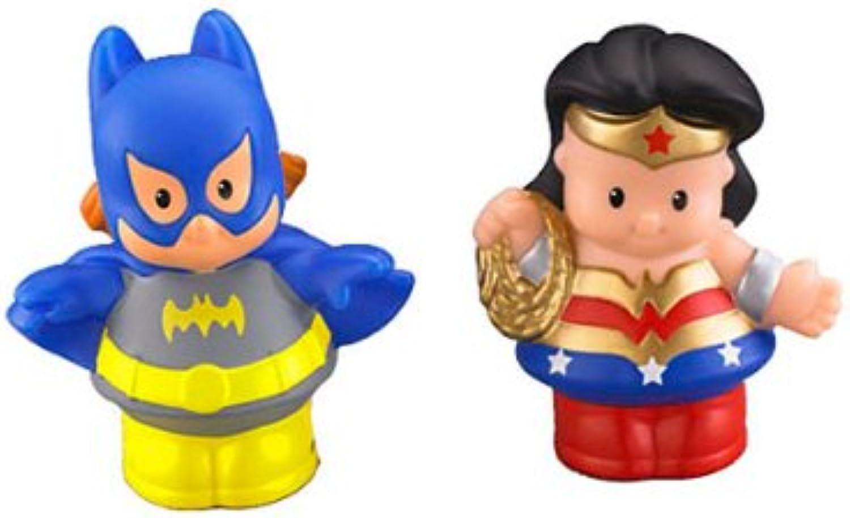 selección larga Fisher-Price - W6158 - Little Little Little People - DC súper Friends - Wonder Woman y Batgirl  venta con descuento