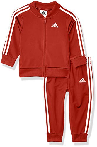 adidas Baby Boys Li'l Tricot Jacket & Pant Clothing Set
