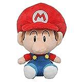 Little Buddy 1247 Super Mario All Star Collection Baby Mario Plush, 6'