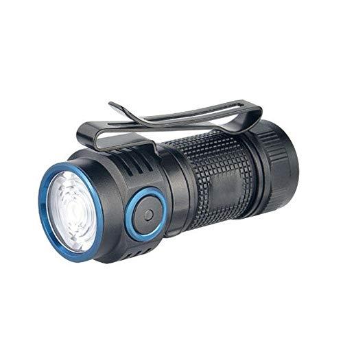 yaunli Linterna 3 Modos de 1.000 lúmenes Linterna de la batería Mini Linterna de múltiples Funciones Portable LED for al Aire Libre Linterna de iluminación (Color : Black, Size : 1000LM)