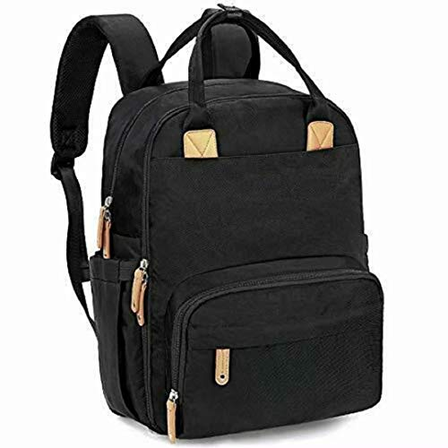 Mochila de pañales para bebé, mochila de pañales grande, mochila de viaje impermeable multifunción para mamá y papá, hay tres colores para elegir