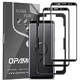 opamoo Protector Pantalla para Samsung Galaxy S9,[2 Pack]Cobertura Completa Cristal Templado Samsung...