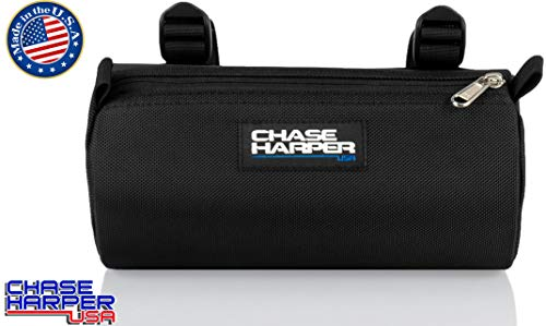 Chase Harper USA 10300 Black BC Barrel Bag - 3.5 Liters - Water-Resistant, Tear-Resistant, Industrial Grade Ballistic Nylon - Universal Fit