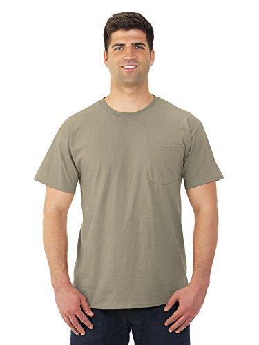 Jerzees Dri-Power Mens Active T-Shirt 2X-Large Khaki