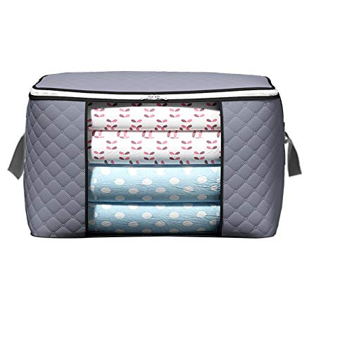 SXET Quilt Storage Bag Organize Bag Clothes Quilt Storage Box Moving Luggage Packing Moisture-proof Storage Horizontal