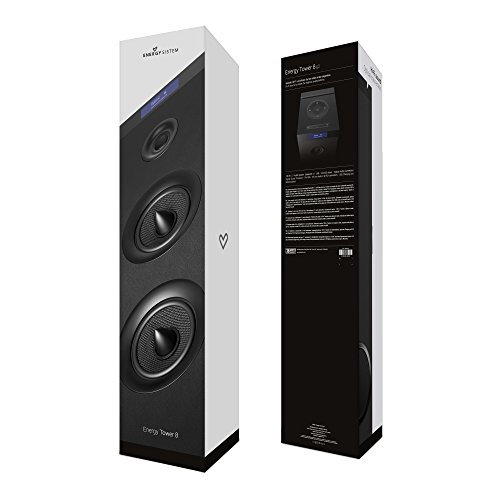Energy Sistem Tower 8 g2 Black - Sistema de sonido en torre (120 W, USB/microSD/FM, entrada óptica, LCD display, Bluetooth) negro