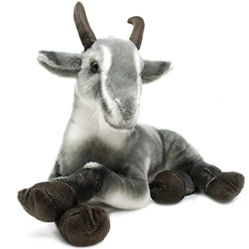 Patrick The Pygmy Goat - 18 Inch Large Stuffed Animal Plush - by Tiger Tale Toys