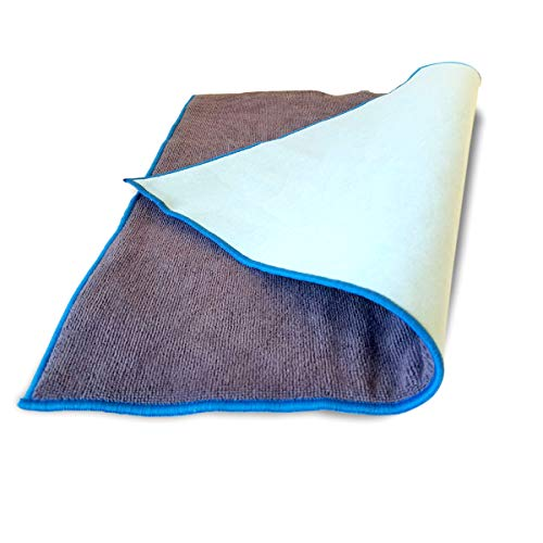 Premium Waterproof Seat Pad For Incontinence -  Ultra Absorbent Soft Microfiber 22 x 22 Inches - 5 Layer Design - For  Adults, Kids and Pets