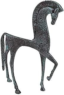 Design Toscano Greek Ironwork Spartan Horse Statue