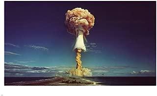 USA ATOMIC BOMB TESTING poster 24X36 mushroom cloud HISTORIC collectors