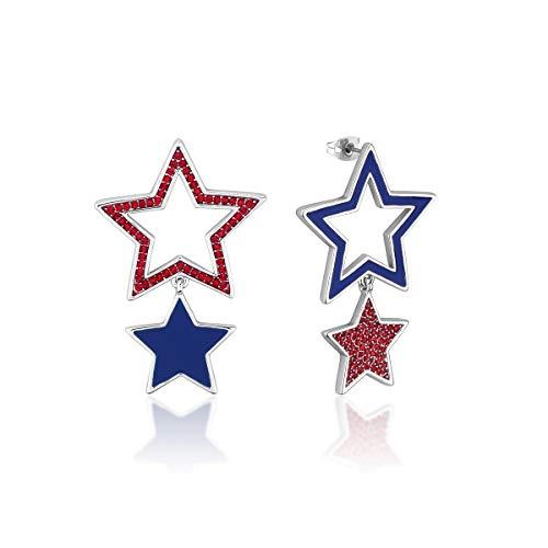 Disney Couture Kingdom Dumbo Boucles d'oreilles en cristal plaqué or blanc Motif étoiles du cirque