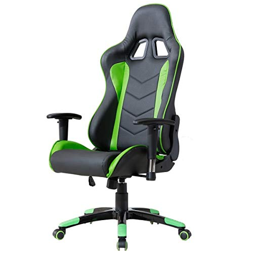 Delman Gaming Stuhl Bürostuhl Racing Bild 2*