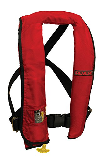 Buy Bargain Revere ComfortMax Inflatable PFD Manual Vest, Red