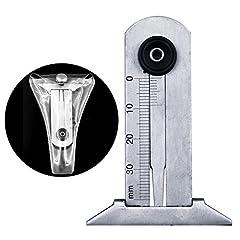 0-30mm Edelstahl-Autoreifen-Reifen-Laufflächen-Tiefen-Gauger-Messgerät-Machthaber-Messwerkzeug