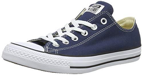Converse Chuck Taylor All Star Ox, Zapatillas Unisex Adulto, Azul Marino, 35 EU