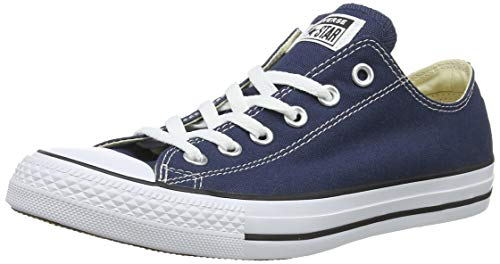 Converse Unisex Chuck Taylor All Star Low Top Converse Navy Sneakers - 6.5 B(M) US Women / 4.5 D(M) US Men