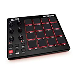 Beat Production, Anywhere - Ultra-portable, feature-packed and USB powered pad controller with 16 thick fat MPC pads for triggering drums, melodic samples, effects and more Expandable Banks - Easily accessible dedicated controls for three pad banks p...