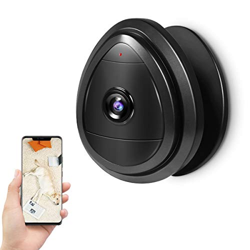 HAYI Wireless IP Camera, 720P WiFi Portable Security Surveillance System with Motion Detection and Email Alert, 2.4Ghz Wireless Home IP Camera for Pet/ Baby/ Elder/ Dog Camera Monitor