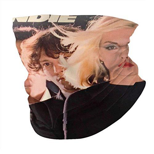 pumpkin pie Männer und Frauen Bandana Neck Warmer Gamaschen Haarband Blondie Poster Sturmhaube Nasenrohrschal Kappe Staubschal Multifunktionale Kopfbedeckung Schwarz
