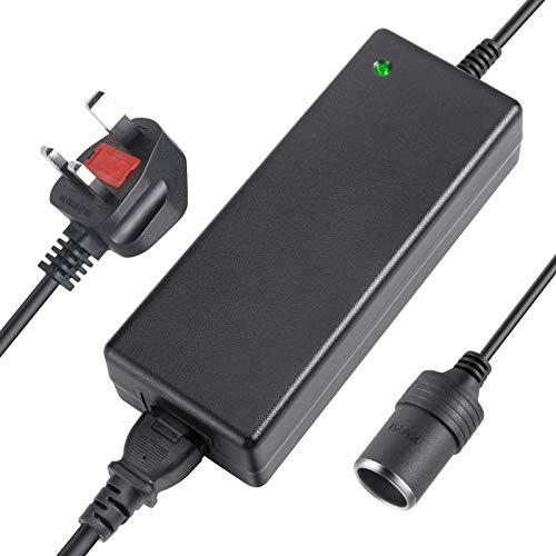 AGPTEK AC to DC Converter, 100V~240V to 12V 10A 120W Car Lighter Socket AC DC Power Supply Adapter