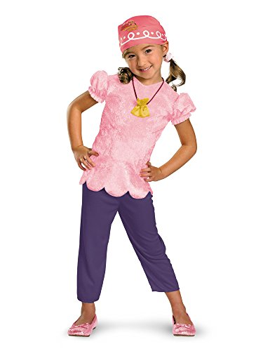 Girls Disney's Jake and the Neverland Pirates Classic Izzy Costume